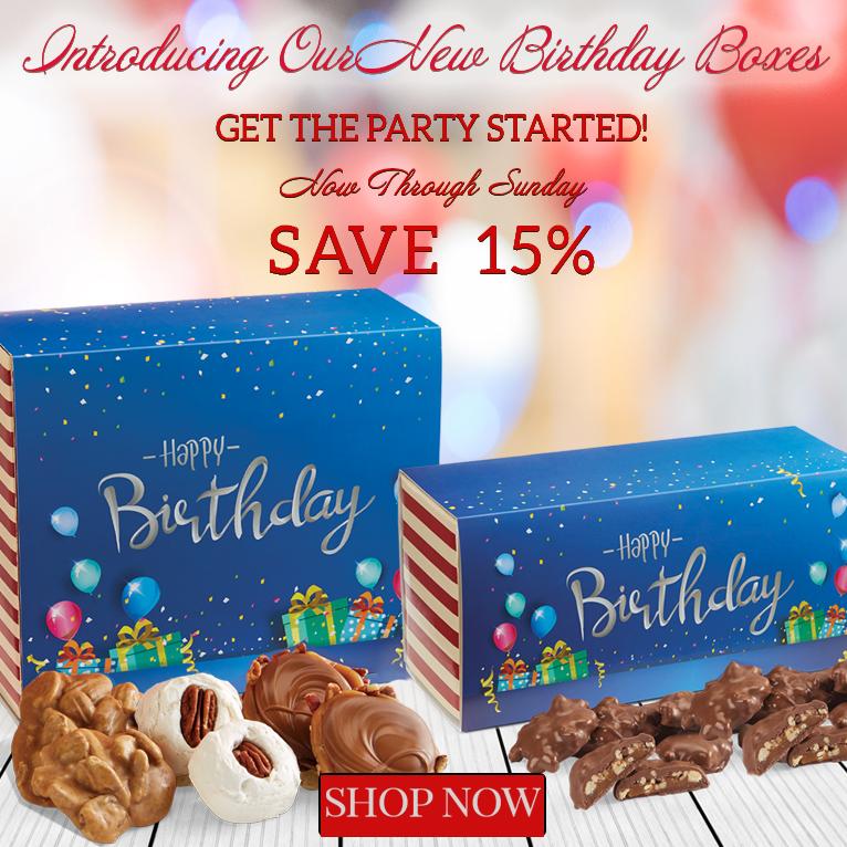 Birthday Box Sale