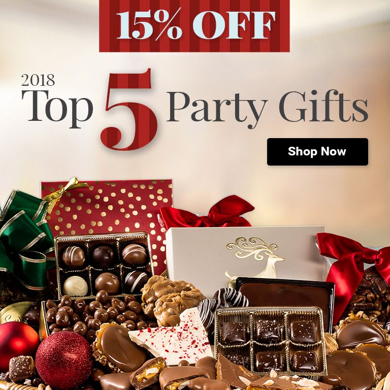 Top 5 Party Gifts!