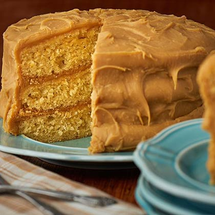 Caramel Layer Cake