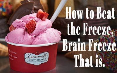 How to Combat Brain Freeze