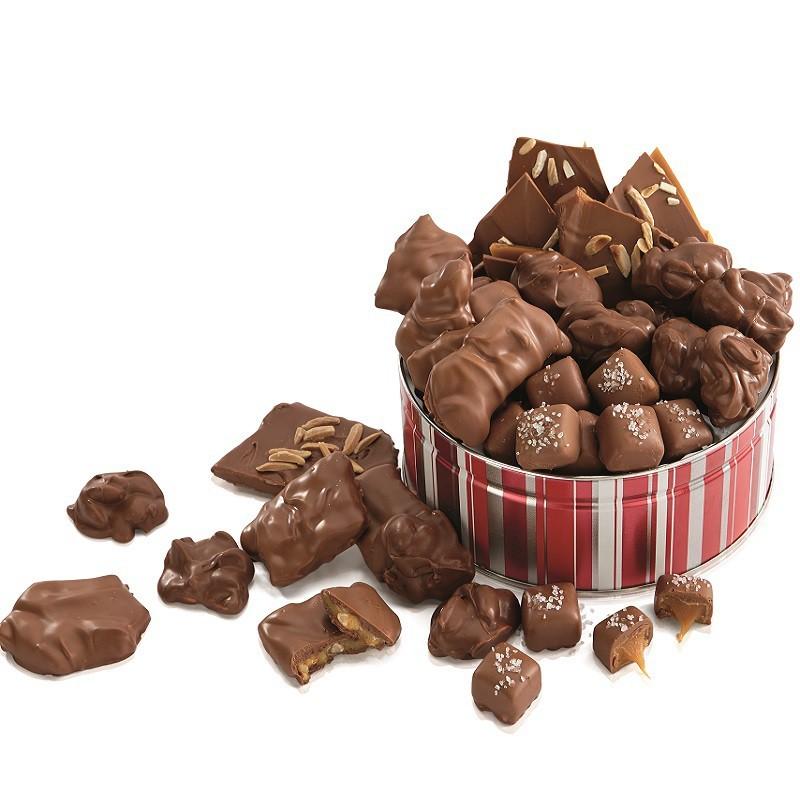 Chocolate Candy Gift Tin