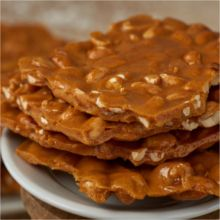 Old Fashion Peanut Brittle Gift Tin