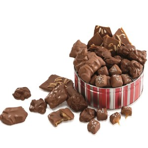 Chocolate Candy Gift Tin - Chocolate Candy Gift Tin - 1 LB