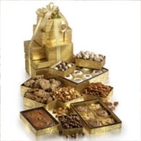 The 10 Story Gift Tower is the best gourmet candy gift tower online.  Taste the southern hand-made pralines and all of Savannah's sweet gift desserts.