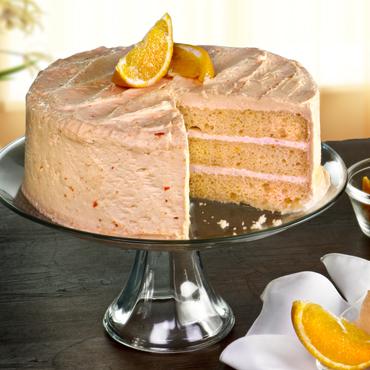 Orange Layer Cakes