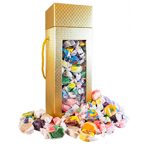 Good As Gold Gift Tower Collection - 2.5 lb Taffy Assortment