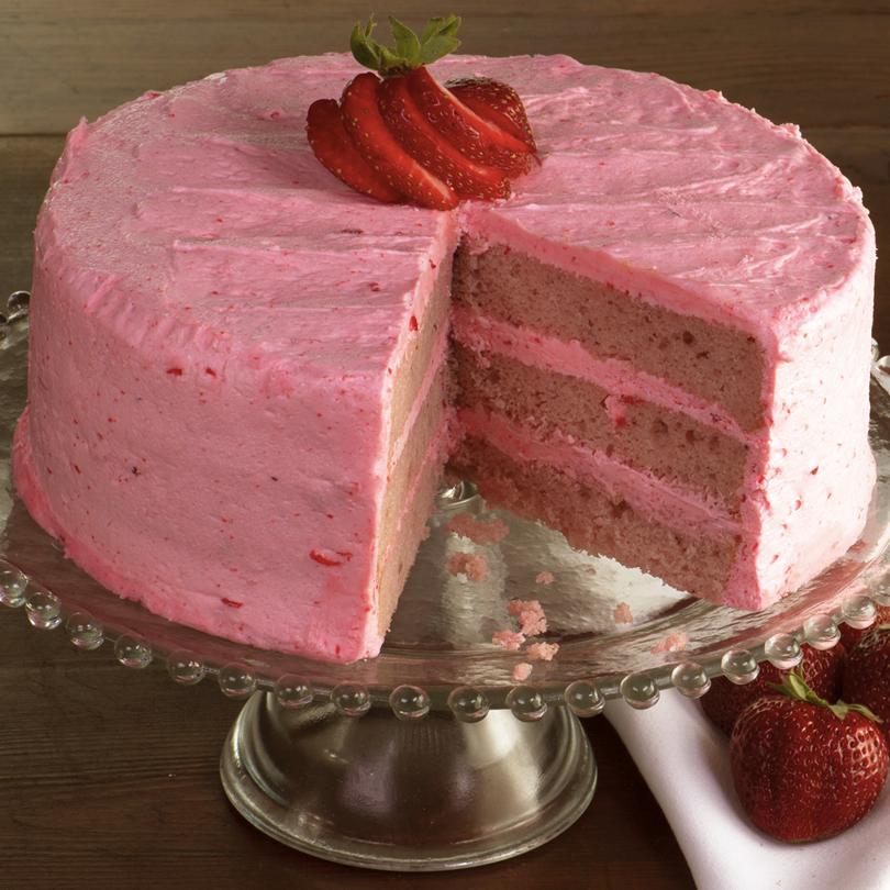 trawberry Layer Cake - Savannah's Candy Kitchen