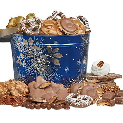 Moonlight Pines 1.5 Gallon Gift Tin