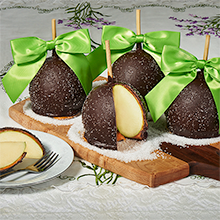 Spring Sea Salt Caramel Apples
