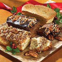 Holiday Cake Sampler