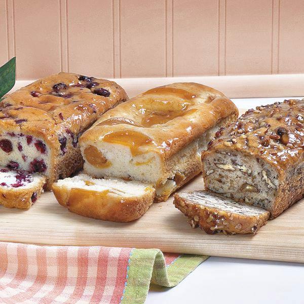 Fruit Bread Trio