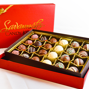 Handmade Gourmet Chocolate Truffles - Savannah's Candy Kitchen