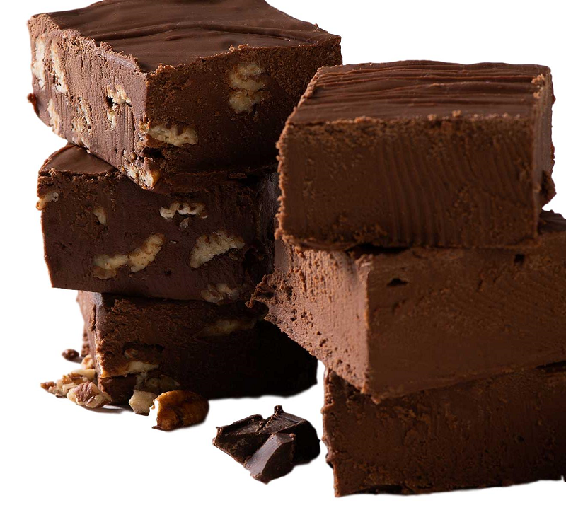 Savannah's Fabulous Chocolate Pecan Fudge 1lb - 2 Pack