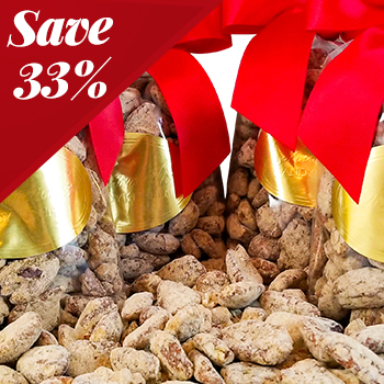 Praline Pecan CollectionFour 1lb Gift Bags - Save 33%