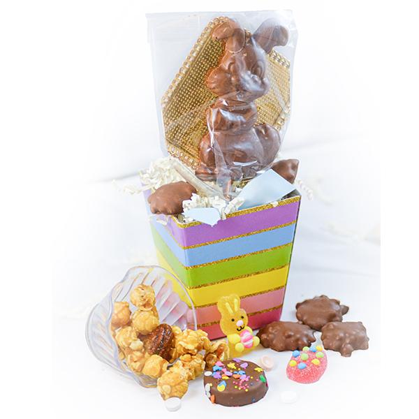 Rainbow Mini Easter Basket