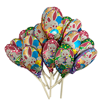 Easter Bunny Chocolate Pop 12pc