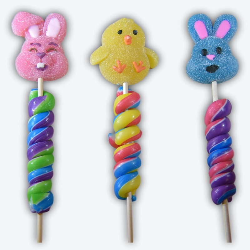 Easter Twist Pop With Marshmallow Topper