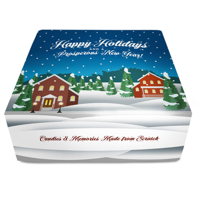 The Holiday Gift Box Collection - 24 Piece