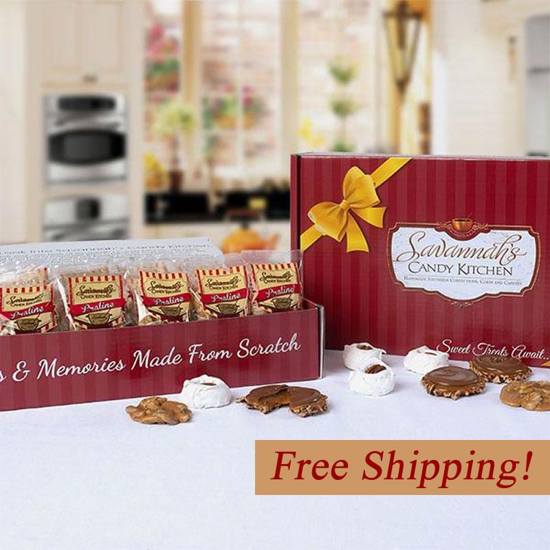 50pc Bulk Candy Boxes - Praline & Gopher Duo