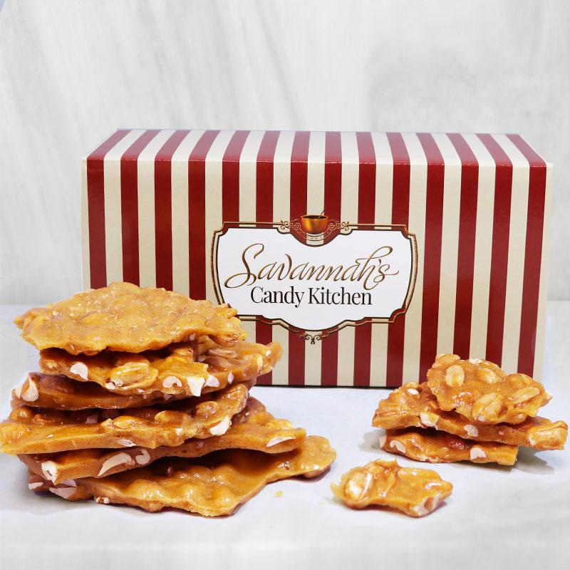 Old Fashioned Peanut Brittle Gift Box