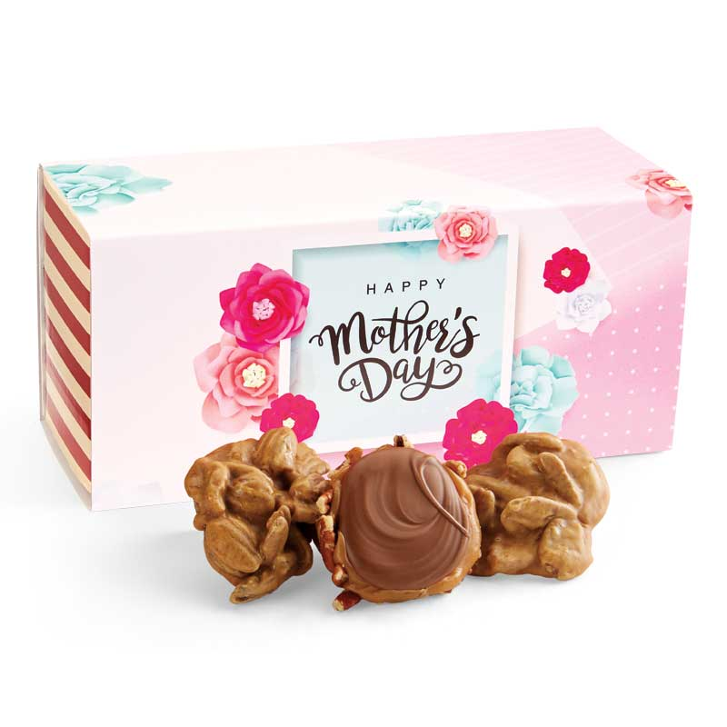 12 Piece Praline & Turtle Gopher Duo in the Mother's Day Gift Box