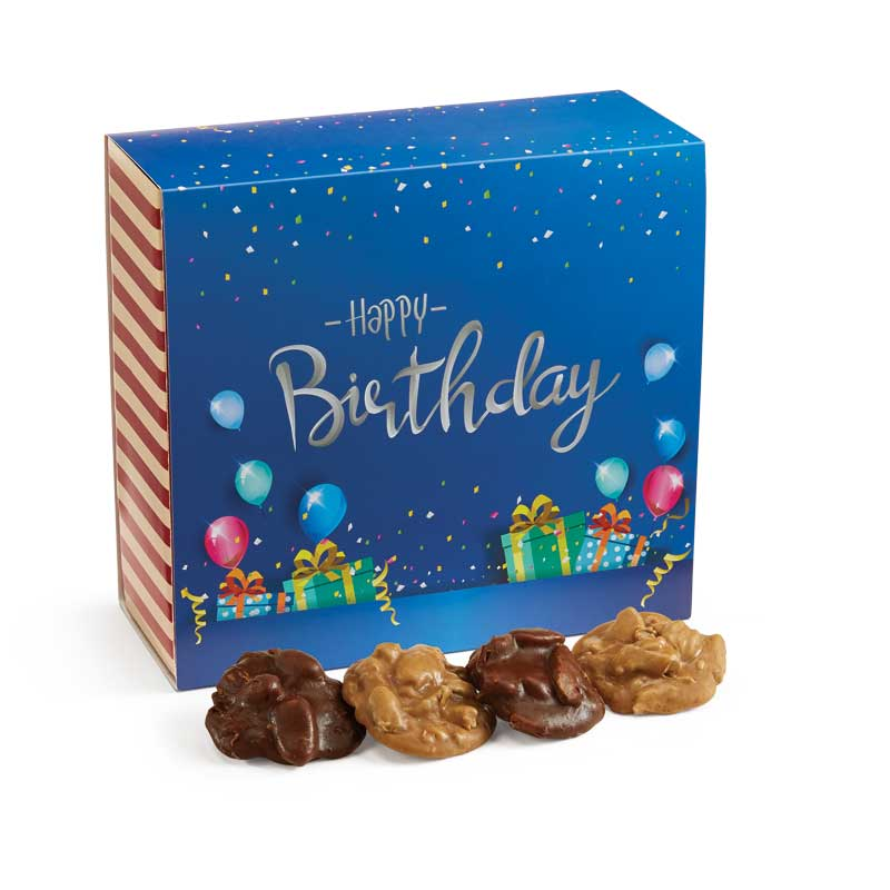 24 Piece Assorted Pralines in the Birthday Gift Box