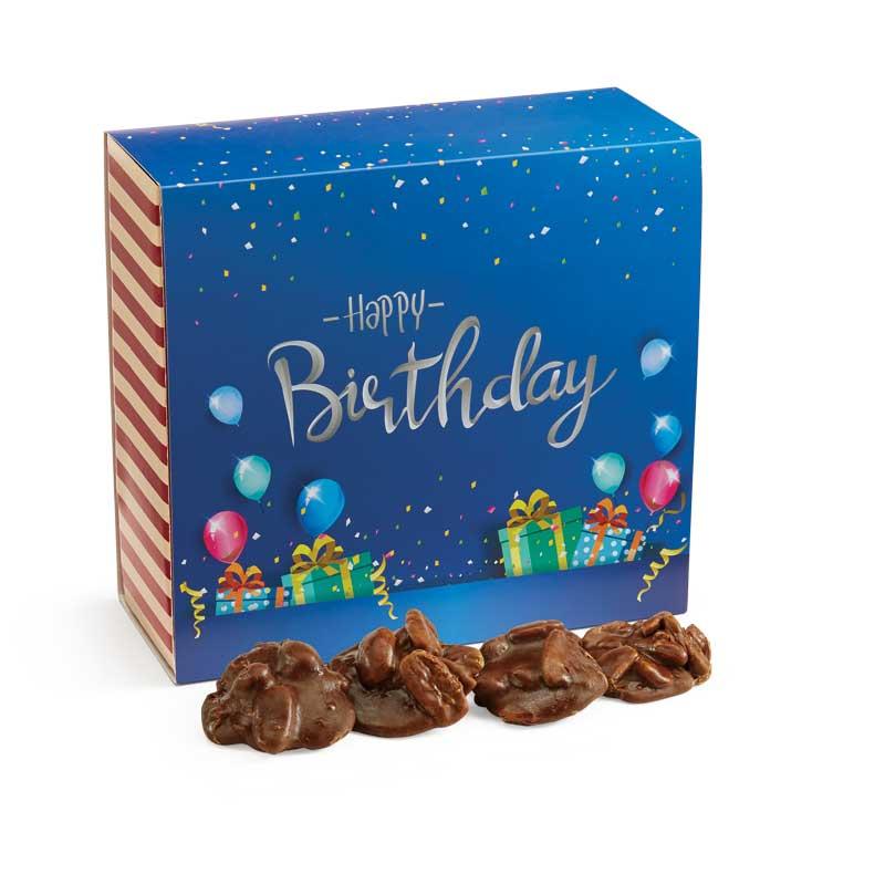 24 Piece Chocolate Pralines in the Birthday Gift Box