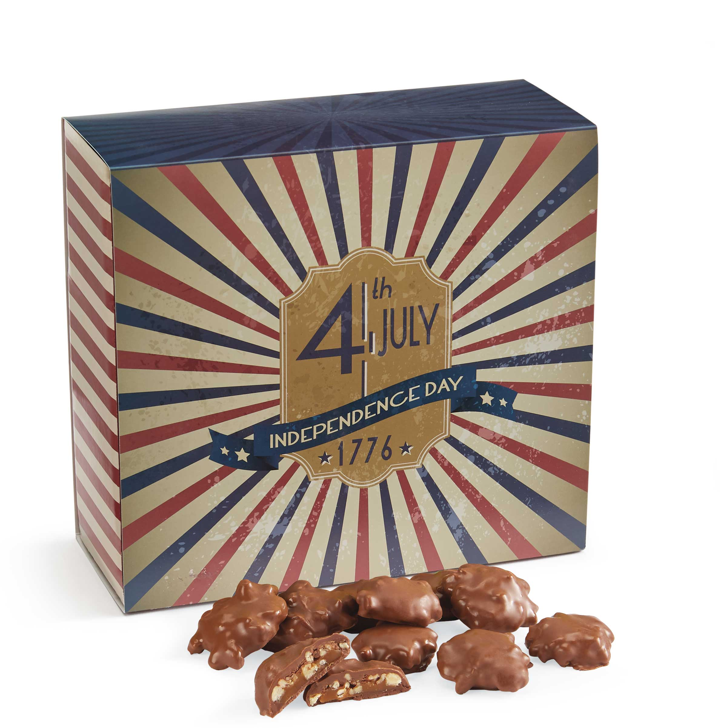 50 Piece Baby Turtle Gophers in the 4th of July Gift Box