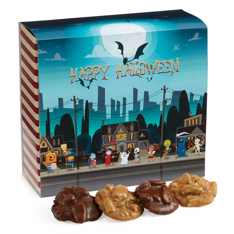 24 Piece Assorted Pralines in the Halloween Gift Box
