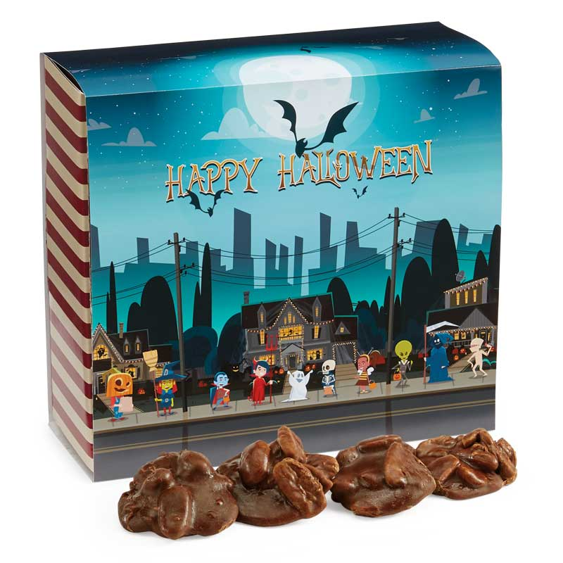 24 Piece Chocolate Pralines in the Halloween Gift Box