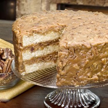 Southern Pecan Praline Sheet Cake Recipe