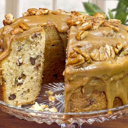 Vanilla Bean Parline Pound Cake