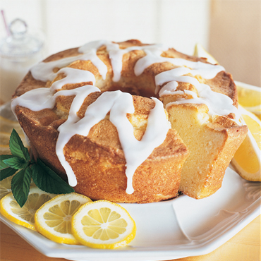 Glazed Lemon Pound Cakes