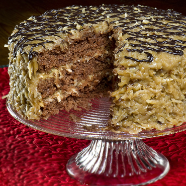 Classic German Chocolate Cake