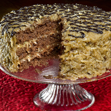 Classic German Chocolate Cake
