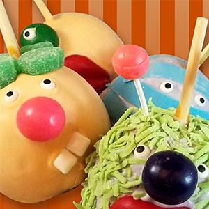 Monster Apples - Monster Apples - Set of 4