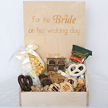 Custom Wedding Box - Bride