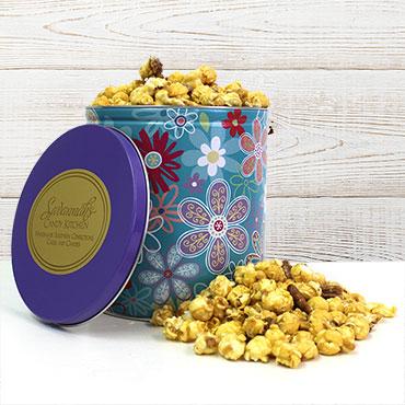 Daisy Popcorn Gift Tin
