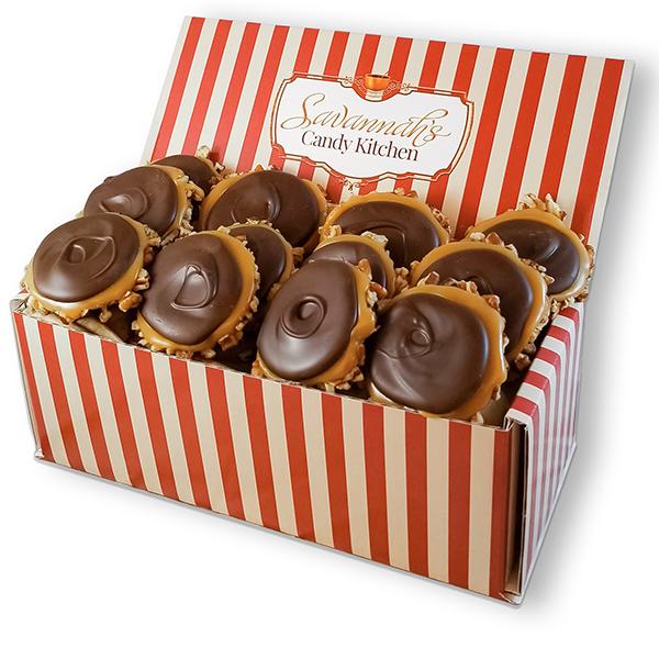 Dark Chocolate Gophers Gift Box