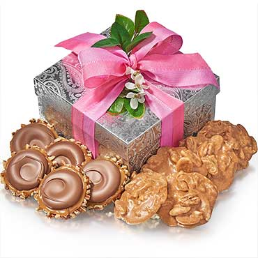 Elegant Gopher & Praline Gift Box