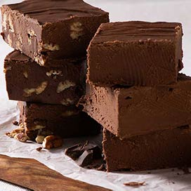 Savannah's Fabulous Fudge - Chocolate Pecan Fudge - 1lb