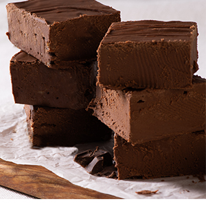 Savannah's Fabulous Chocolate Fudge - Two 1lb Packs - Save $21