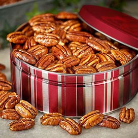 Glazed Pecan Gift Tin - Glazed Pecan Gift Tin