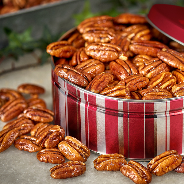 Glazed Pecan Gift Tin 1lb - 2 PackSave $20.95