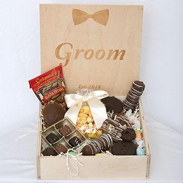 Custom Wedding Box - Groom