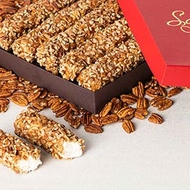 Pecan Log Rolls - Father's Day Gift Box