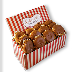 Milk Chocolate Turtle Gophers Gift Box