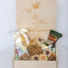 Custom Wedding Box - Mr & Mrs Johnson