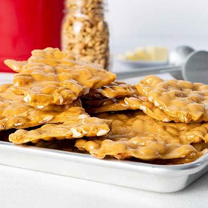 Old Fashioned Peanut Brittle Gift Tin