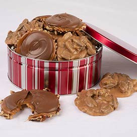Praline & Turtle Gopher Duo Gift Tin